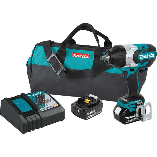 "Makita 18V LXT® Lithium-Ion Brushless Cordless High Torque 1/2"" Sq. Drive Impact Wrench"