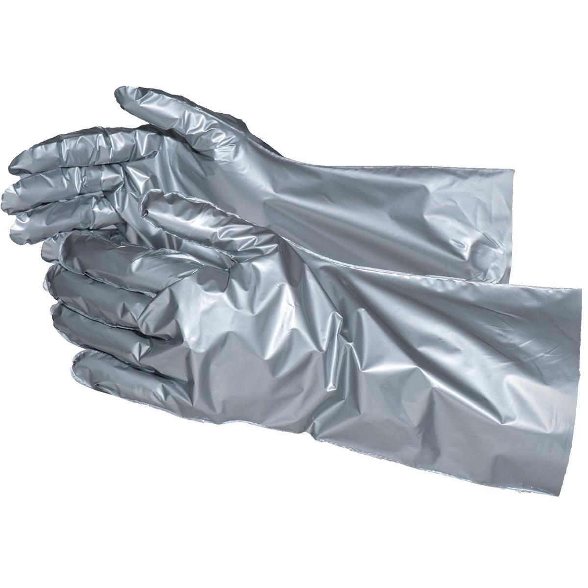 SILVERSHIELD SilverShield® Barrier Laminate, Foil-Type Safety Gloves