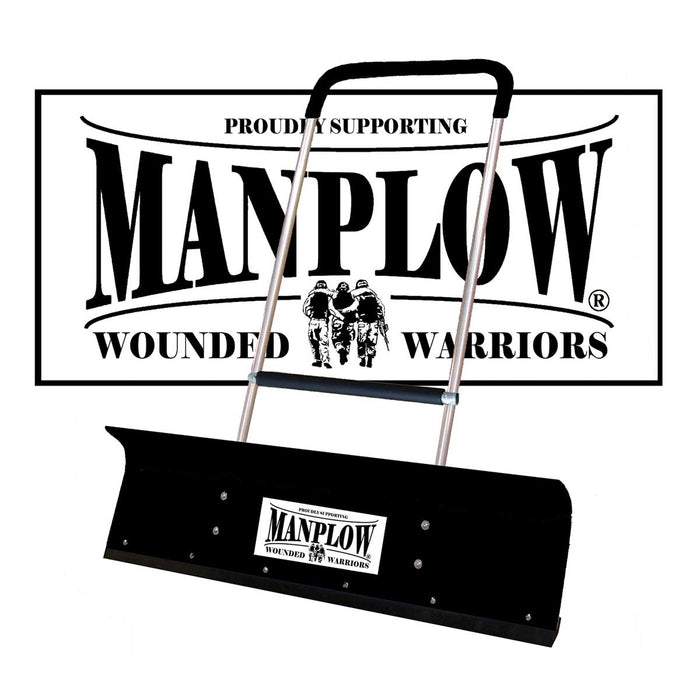 Manplow PRO42 Wounded Warrior Special Release Snow Pusher