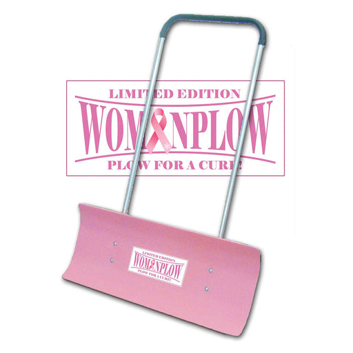 WOMANPLOW REV32BCA Breast Cancer Awareness Special Release Snow Pusher