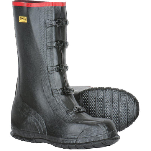 "SERVUS BY HONEYWELL 15""H, 5-Buckle Super-Size Rubber Overboots"