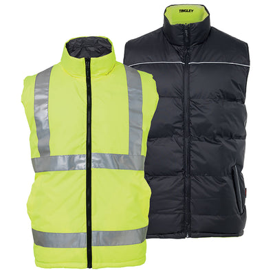 Tingley Reversible Insulated Hi Vis Vest
