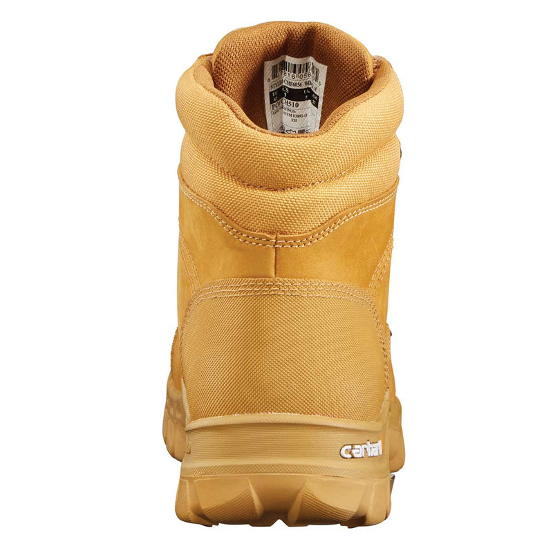 "Carhartt Rugged Flex 6"" Wheat Plain Toe Boot"