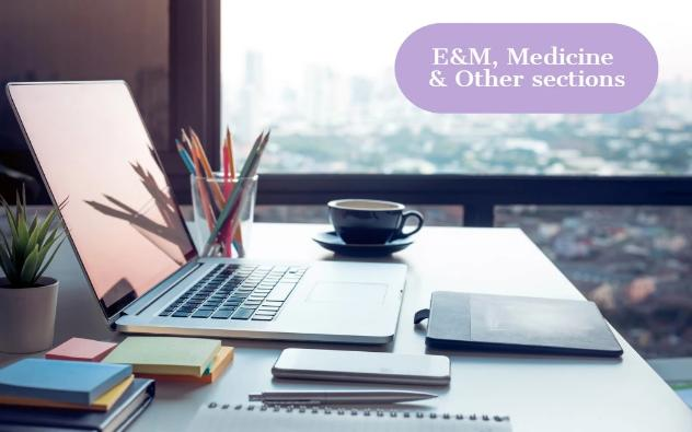 2020 CPT Update: E&M, Medicine and Other Sections | 1 CEU - YES HIM Education