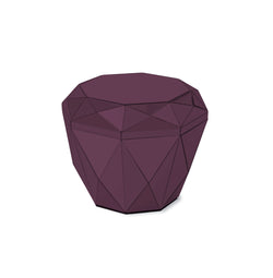 DIAMOND Table Burgundy