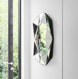 Diamond Small Mirror Silver
