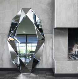 Diamond XL Mirror Silver