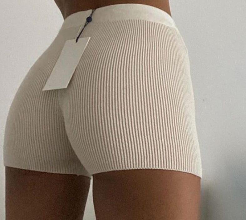 Ribbed Boxer Shorts