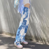 Tie Dye Cloud Cargo Pants
