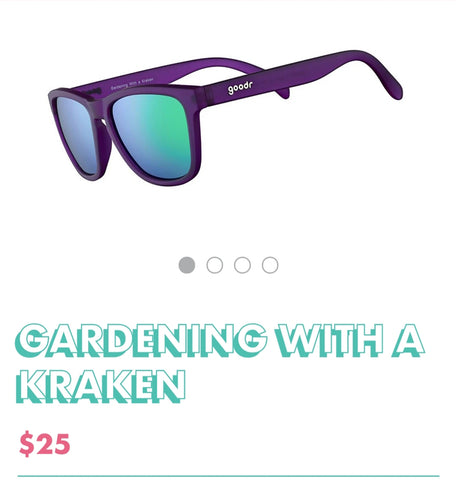 "Goodr Sunglasses ""Gardening with a Kraken"""