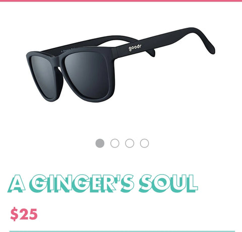 "Goodr Sunglasses ""A Ginger's Soul"""