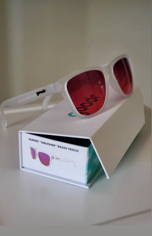 "Goodr Sunglasses ""Sunset Squishee Brain Freeze"""