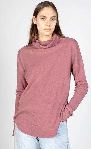 Burgundy Deon Top