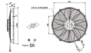 "13"" HIGH POWER BLOWING FAN REVOTEC"