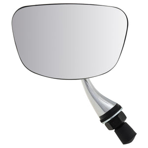 DOOR MIRROR, FLAT, CHROME, TR5-6