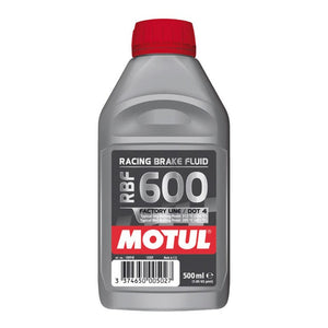RACING, BRAKE FLUID 500ML , DOT4 , MOTUL 600