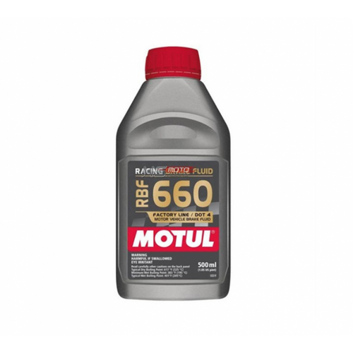 RACING, BRAKE FLUID 500ML , DOT4 , MOTUL 660