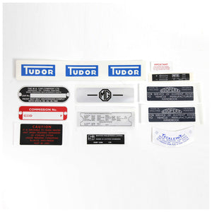 DECAL KIT MGB GT 1965-1967