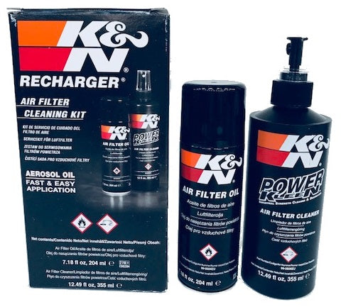 K&N FILTER CLEANER & OIL