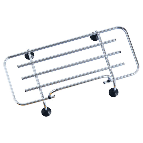 CLIP-ON BOOT RACK, 90x34 CM, ALUMINIUM SLATS