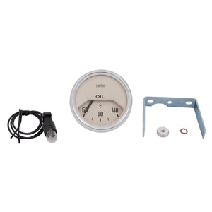 OIL TEMPERATURE GAUGE, °C, 52mm, MAGNOLIA
