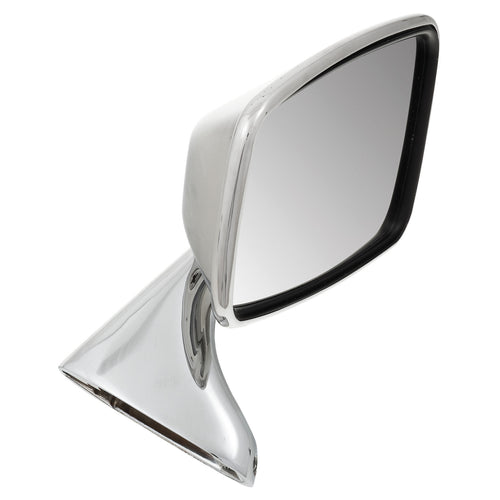 RIGHT DOOR MIRROR, FLAT, STAINLESS STEEL, TEX