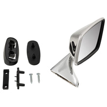 Load image into Gallery viewer, RIGHT DOOR MIRROR, FLAT, STAINLESS STEEL, AFTERMARKET