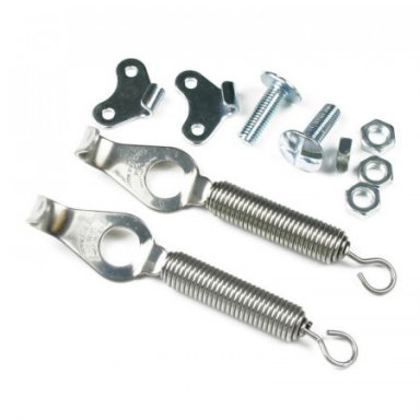 COMPETITION BOOT SPRINGS, STAINLESS STEEL, PAIR