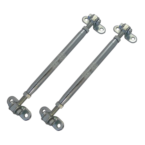 PAIR ADJUSTABLE LAMP STEADY BARS