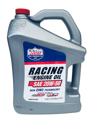 LUCAS RACING MOTOR OIL SAE 20W50