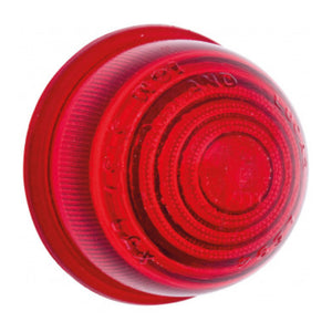 GLASS INDICATOR LENS, RED
