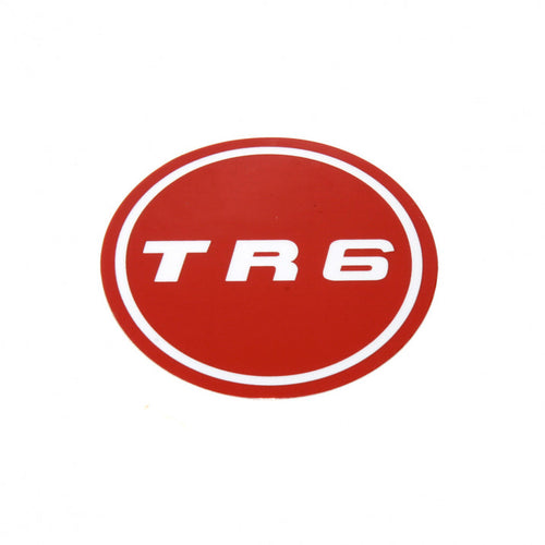 DECAL FOR WHEEL MEDALLION TR6