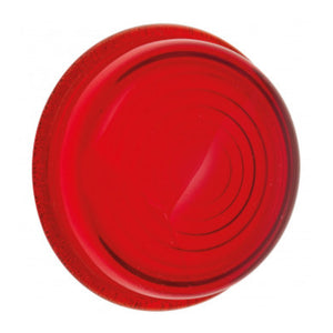 FLAT GLASS INDICATOR LENS, RED
