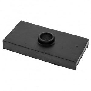 REAR SPRING SEATING PAD, RUBBER