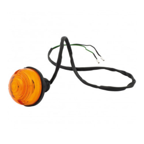 LAMP ASSEMBLY, INDICATOR, AMBER, SCREW ON LENS
