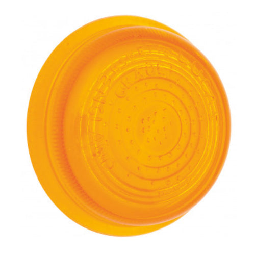 FLAT GLASS INDICATOR LENS, AMBER