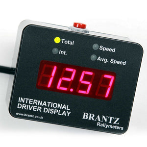 INTERN. 2S PRO DRIVER DISPLAY UNIT