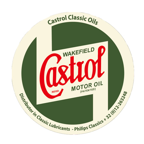 CASTROL RACING STICKER SMALL