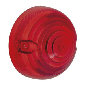 PLASTIC INDICATOR LENS, RED, SCREW FIXING