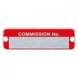 COMMISSION PLATE