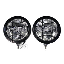 Load image into Gallery viewer, 210mm MAXTEL LAMPS, STAINLESS STEEL, PAIR