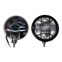 Load image into Gallery viewer, 160mm MAXTEL LAMPS, STAINLESS STEEL, PAIR