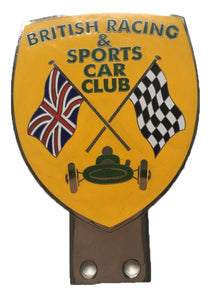 BADGE BRITISH RACING AND SPORTS CAR CLUB