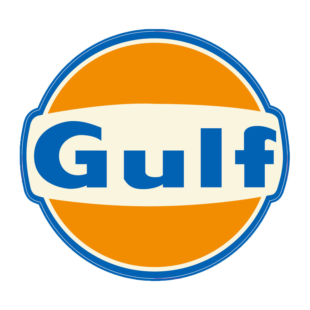 GULF RACING STICKER SMALL