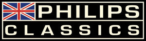 PHILIPS CLASSICS BLACK RACING STICKER