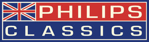 PHILIPS CLASSICS BLUE RACING STICKER