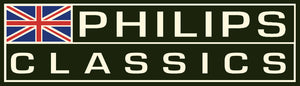 PHILIPS CLASSICS DARK GREEN RACING STICKER
