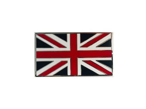BADGE, UNION JACK, STICK ON, ENAMEL
