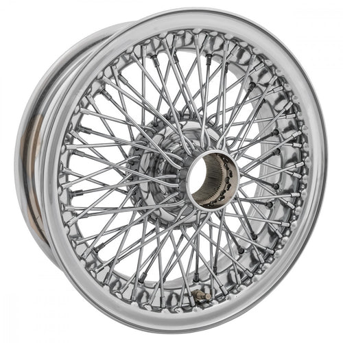 WIRE WHEEL, CHROME, 15