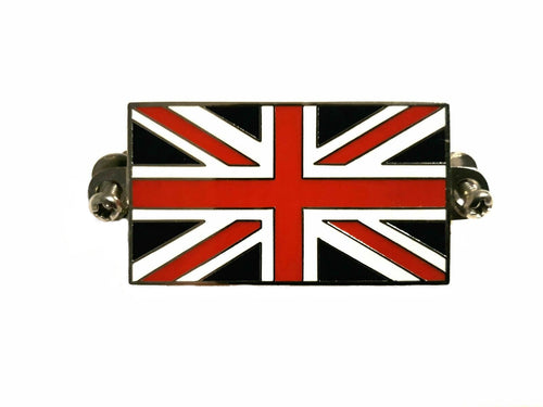 BADGE, UNION JACK, SCREW TYPE